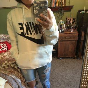 Nike oversized sweatshirt , worn once